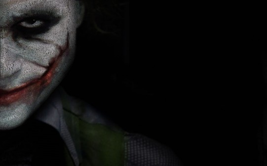 El Joker. Fondo de Terror