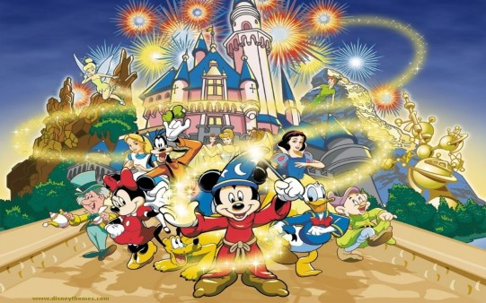 Fondo Navidad Disney