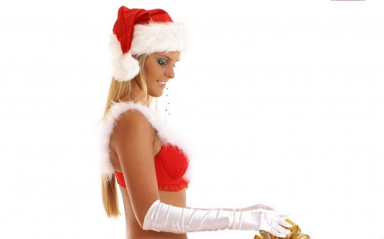 Chica Sensual Papá Noel