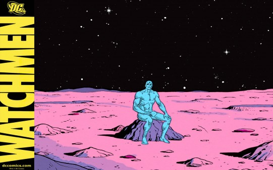 Watchmen Comic. Doctor Manhattan