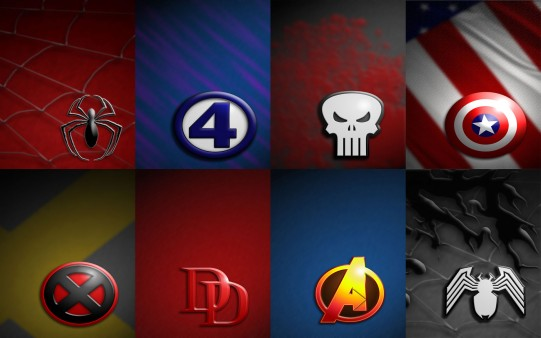 Comic Marvel Logos