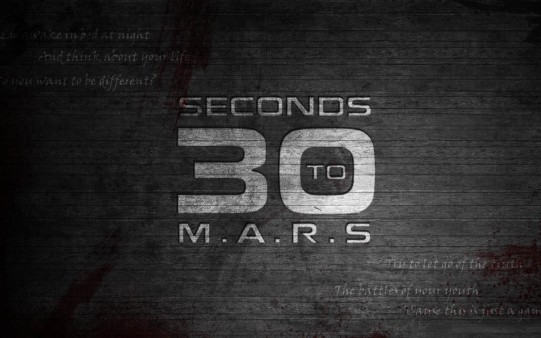 Fondo Musical. 30 Seconds to Mars