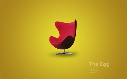 Butaca The Egg. Muebles de Diseño