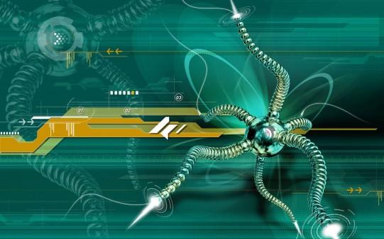 Araña Abstracta
