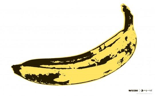 Fondo Arte Andy Warhol Banana.
