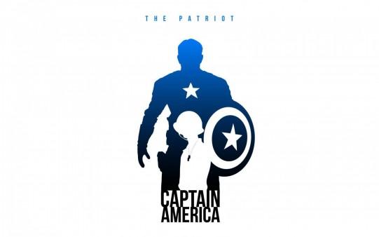 Fondos Héroes de Comic Capitán América.