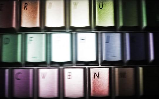 Teclado de Colores.