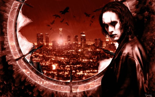 Fondo Pantalla Eric Draven. The Crow.