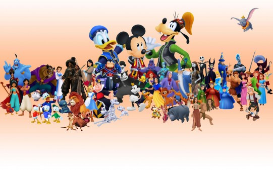 Collage Personajes Disney