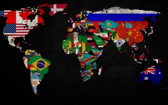 El Mundo con Banderas