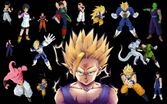 Fondo Escritorio Personajes Dragon Ball Z