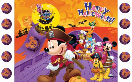 Fondo de Mickey en Halloween