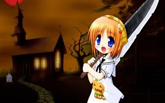 Fondos Manga Halloween
