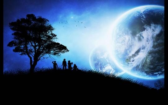 La tierra desde otro planeta
