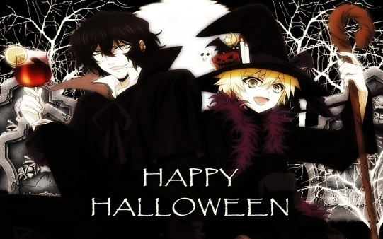 Anime Gótico Happy Halloween