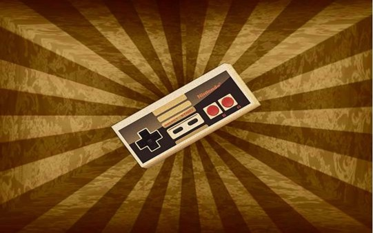 Wallpaper Mando Nintendo Consola Retro.