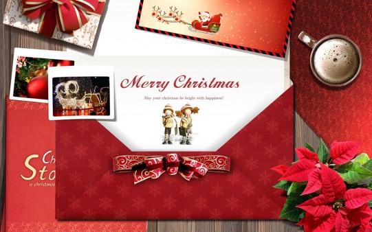Fondo Feliz Navidad 2014.