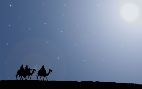 Los reyes Magos Wallpaper.
