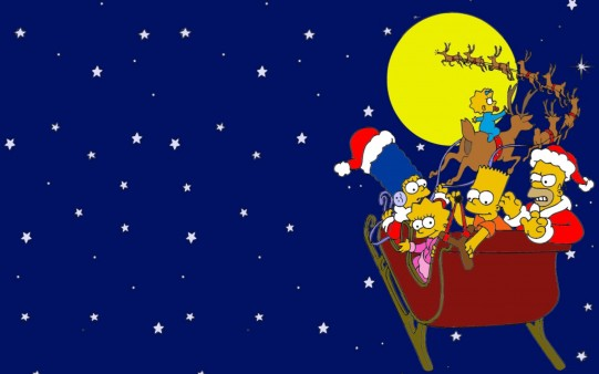 Los Simpsons Claus Fondo
