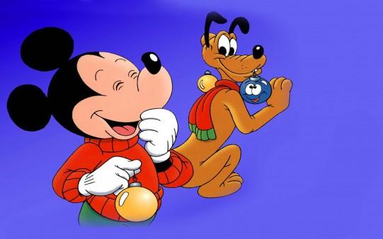 Fondo Mickey Navidad