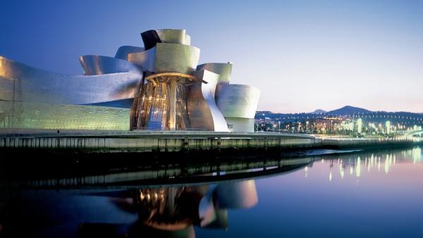 Fondo Pantalla museo Guggenheim de Bilbao