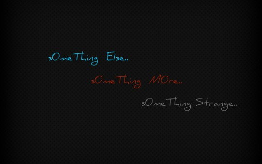 Fondo Pantalla One Thing