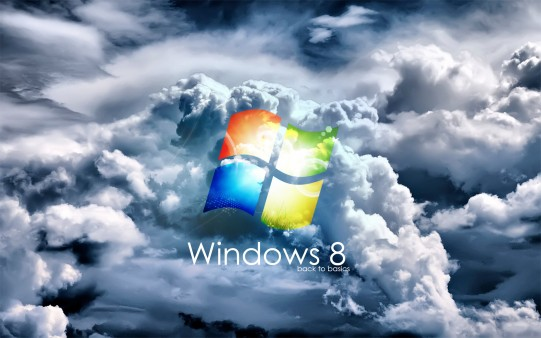 Fondo Pantalla Logo Windows 8