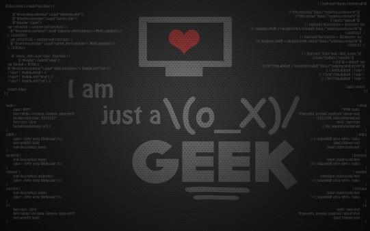 Fondo de Pantalla Geek