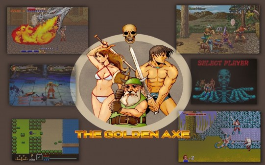 Fondo de Pantalla Retro Golden Axe