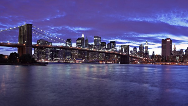 Wallpaper de Nueva York y el Puente de Brooklyn