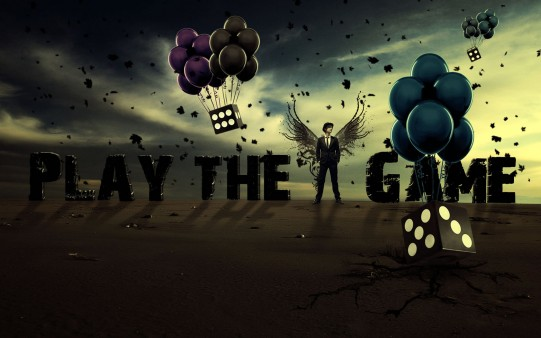 Fondo de Pantalla Play the Game.