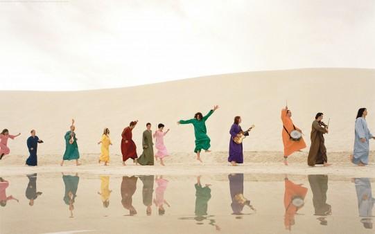 Fondo de Pantalla. Colores en el Desierto