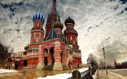 Moscú. Catedral de San Basilia. Rusia