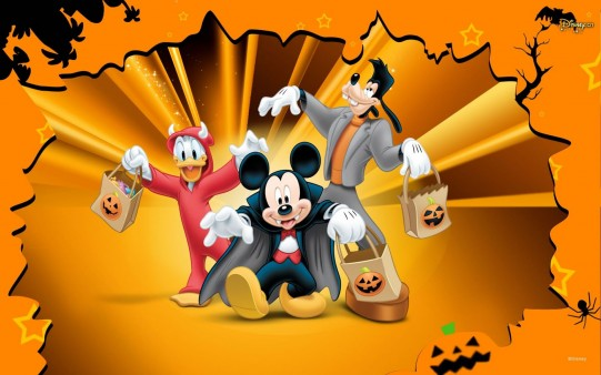 Wallpaper de Halloween Disney