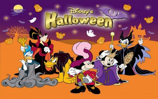 Fondos de Halloween. Disney Halloween