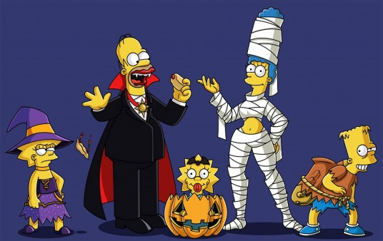 Wallpaper Halloween Simpsons