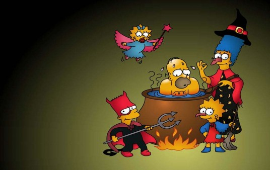 Wallpaper Halloween Los Simpsons
