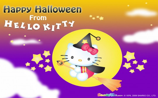 Fondos Halloween Hello Kitty