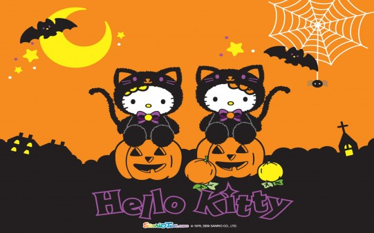 Halloween Hello Kitty Doble