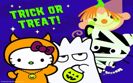Halloween Hello Kitty para Escritorio