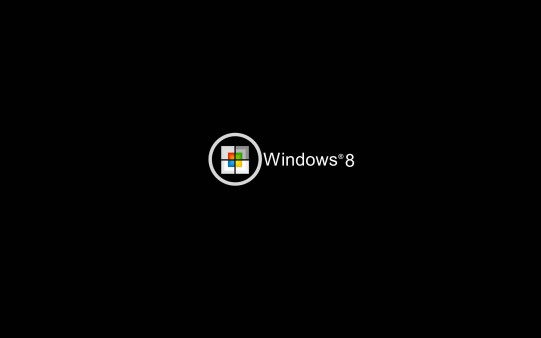 Fondo Negro para Windows 8